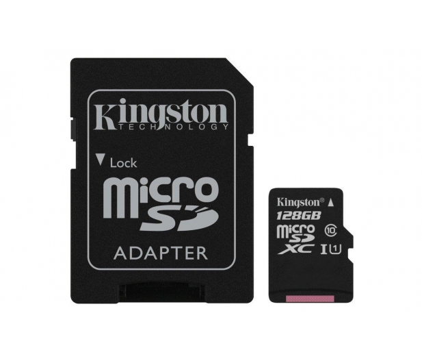 Kingston 128GB microSDXC Canvas Select 80MB/s C10 UHS-I - 408960 - zdjęcie 2