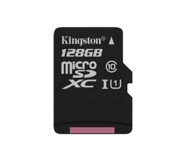 Kingston 128GB microSDXC Canvas Select 80MB/s C10 UHS-I - 408960 - zdjęcie