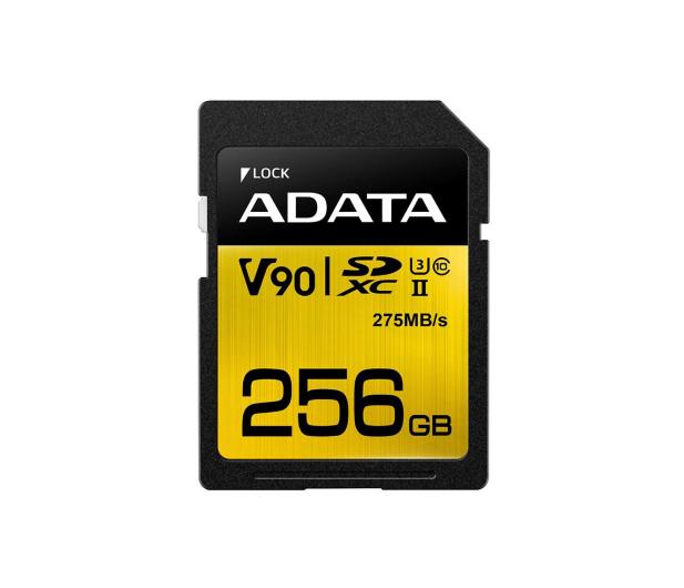 ADATA 256GB Premier ONE 275MB/s C10 UHS-II U3  - 408953 - zdjęcie