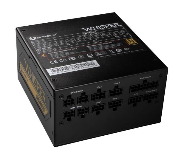 Bitfenix Whisper 650W 80 Plus Gold  - 409092 - zdjęcie 3