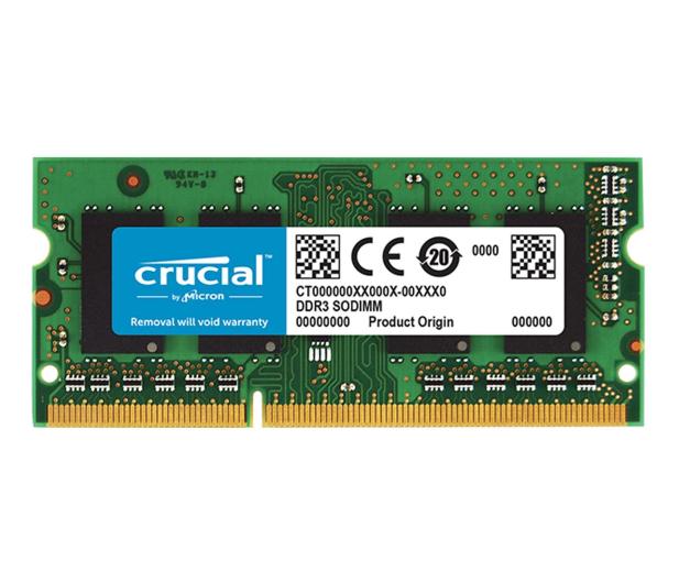 Crucial 8GB (1x8GB) 1600MHz CL11 DDR3L  - 410032 - zdjęcie