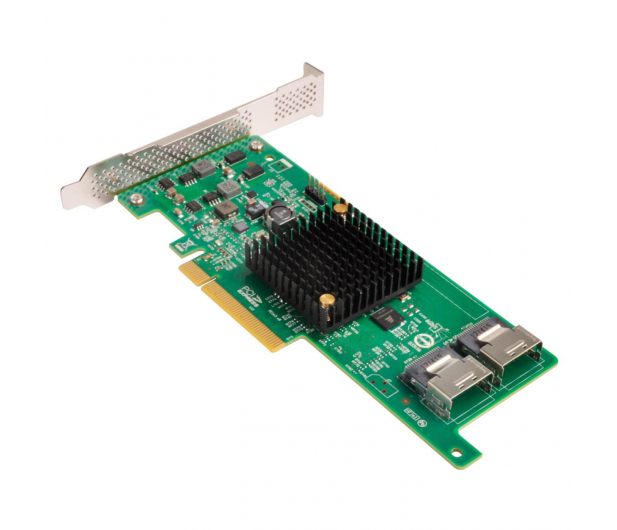 SilverStone RAID-Contr. PCIe x8 SAS/SATA - 406265 - zdjęcie