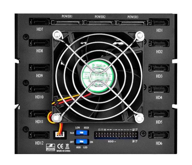 SilverStone 12x2.5'' HDD/SSD SATA - 406489 - zdjęcie 5