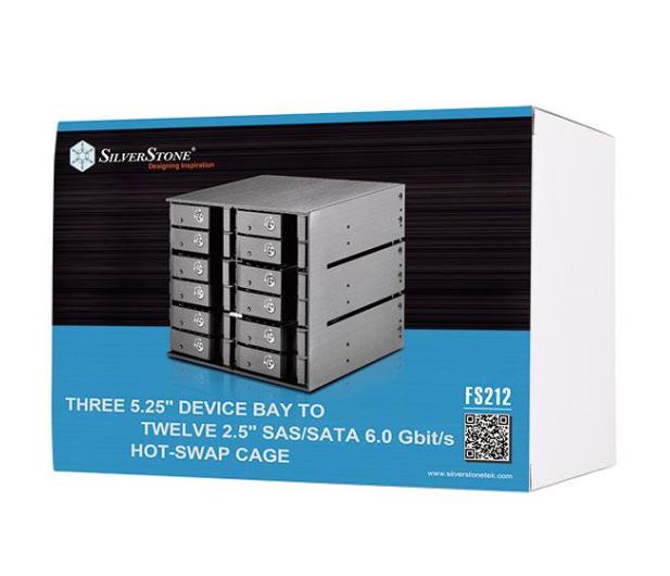 SilverStone 12x2.5'' HDD/SSD SATA - 406489 - zdjęcie 6