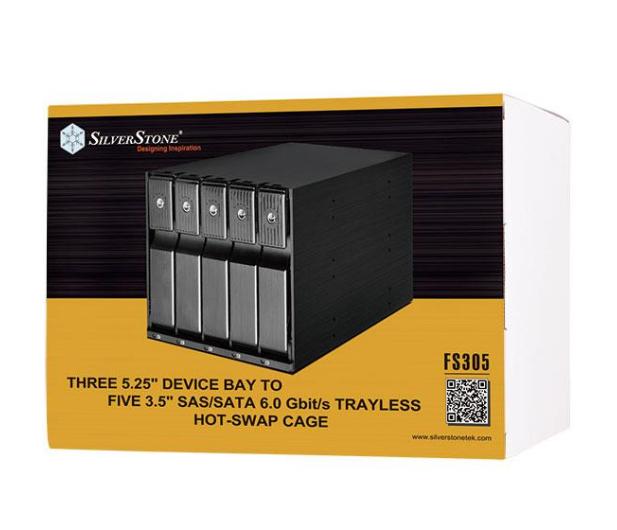 SilverStone 5x3.5'' HDD SATA - 406451 - zdjęcie 6