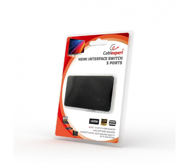 Gembird Przełącznik HDMI - HDMI (3 porty) - 406425 - zdjęcie 4