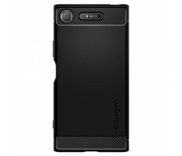 Spigen Rugged Armor do Sony XPERIA XZ1 Black - 409205 - zdjęcie 3