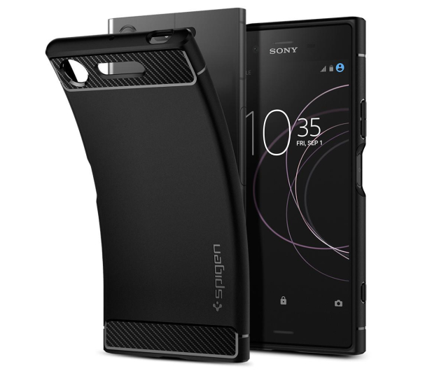 Spigen Rugged Armor do Sony XPERIA XZ1 Black - 409205 - zdjęcie 5