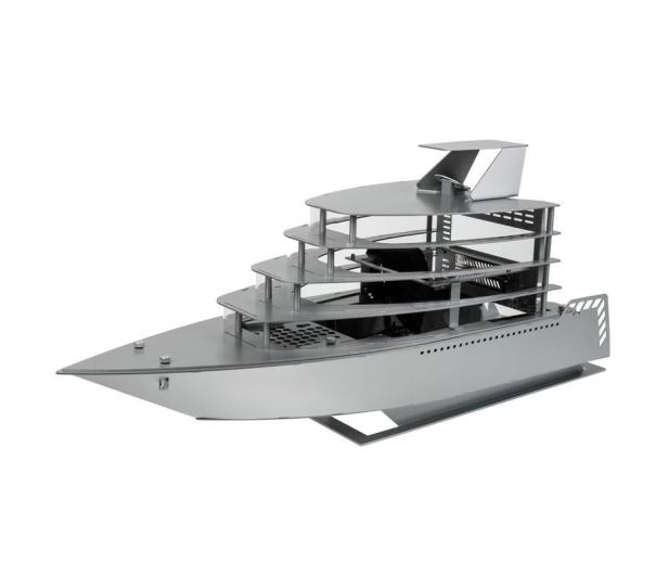 Lian Li PC-Y6A Odyssey Yacht (srebrny) - 408314 - zdjęcie 2