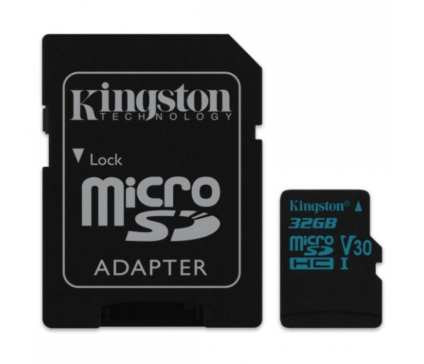Kingston 32GB microSDHC Canvas Go! 90MB/s C10 UHS-I V30 - 410713 - zdjęcie 2