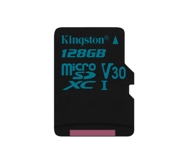Kingston 128GB microSDXC Canvas Go! 90MB/s C10 UHS-I V30 - 410715 - zdjęcie
