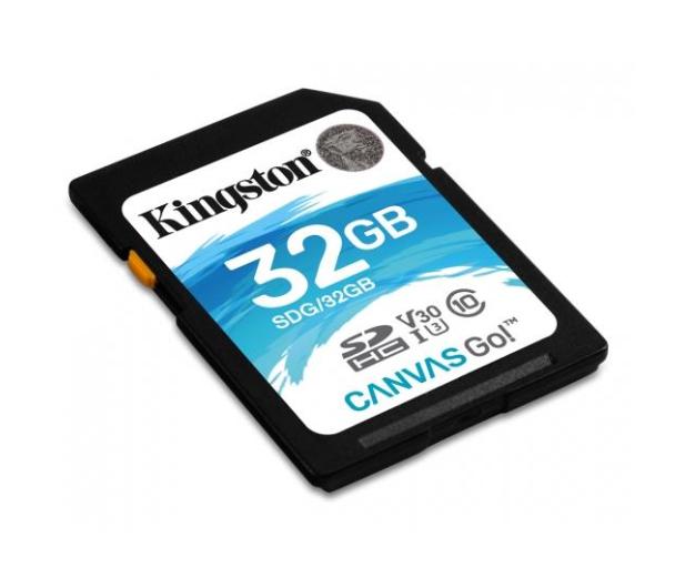 Kingston 32GB SDHC Canvas Go! 90MB/s C10 UHS-I U3  - 410717 - zdjęcie 2