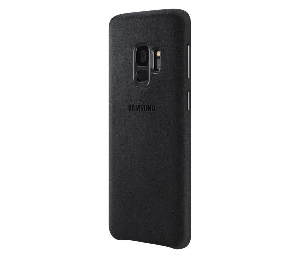 Samsung Alcantara Cover do Galaxy S9 Black - 405909 - zdjęcie