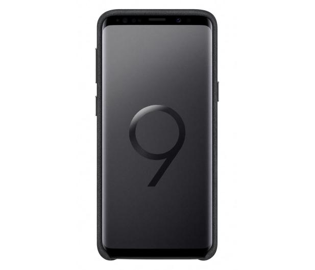 Samsung Alcantara Cover do Galaxy S9 Black - 405909 - zdjęcie 3