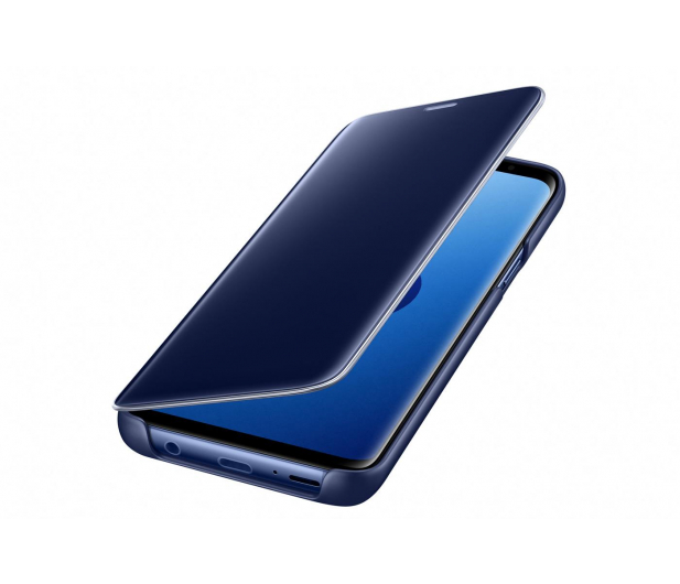 Samsung Clear View Standing Cover do Galaxy S9 Blue - 404406 - zdjęcie