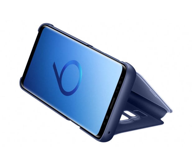 Samsung Clear View Standing Cover do Galaxy S9 Blue - 404406 - zdjęcie 2