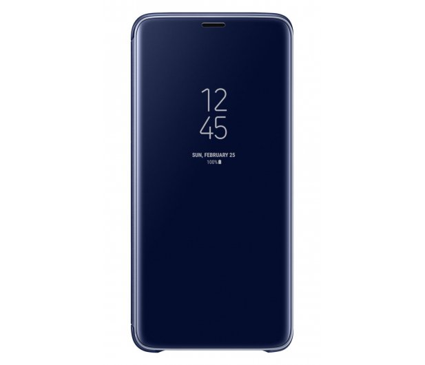 Samsung Clear View Standing Cover do Galaxy S9+ Blue - 405925 - zdjęcie 5