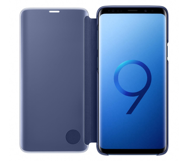 Samsung Clear View Standing Cover do Galaxy S9+ Blue - 405925 - zdjęcie 3