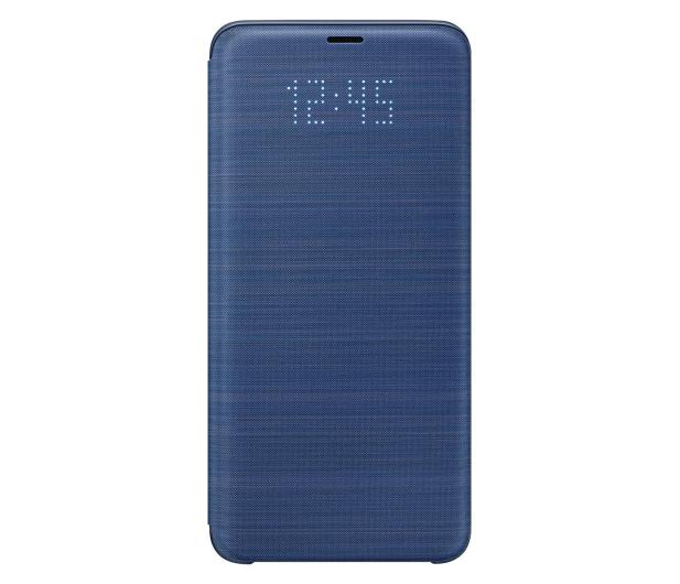 Samsung LED View Cover do Galaxy S9+ Blue - 405922 - zdjęcie