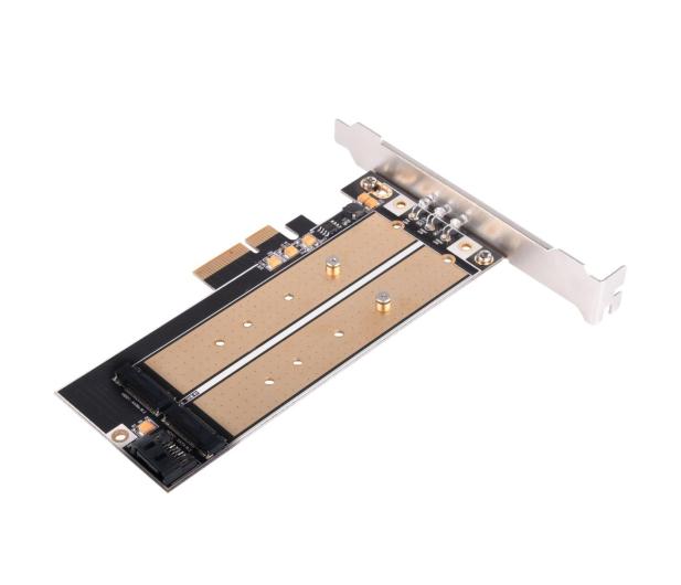 SilverStone PCIe x4 - 2xM.2 - 406456 - zdjęcie 3