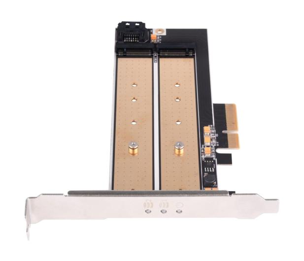 SilverStone PCIe x4 - 2xM.2 - 406456 - zdjęcie 4