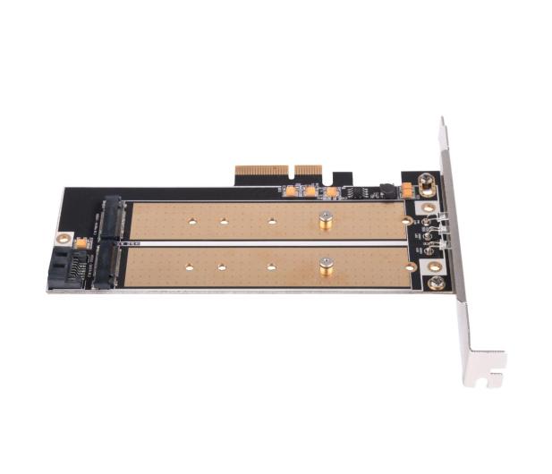 SilverStone PCIe x4 - 2xM.2 - 406456 - zdjęcie 6