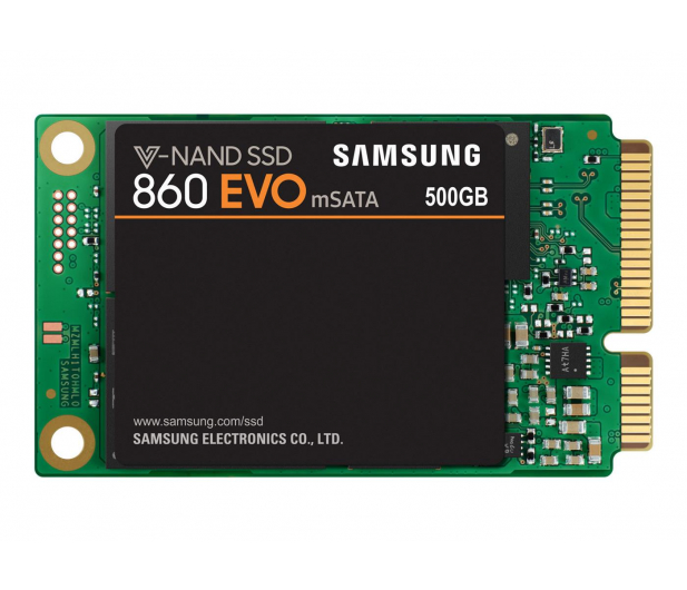 Samsung 500GB mSATA SSD 860 EVO - 407043 - zdjęcie