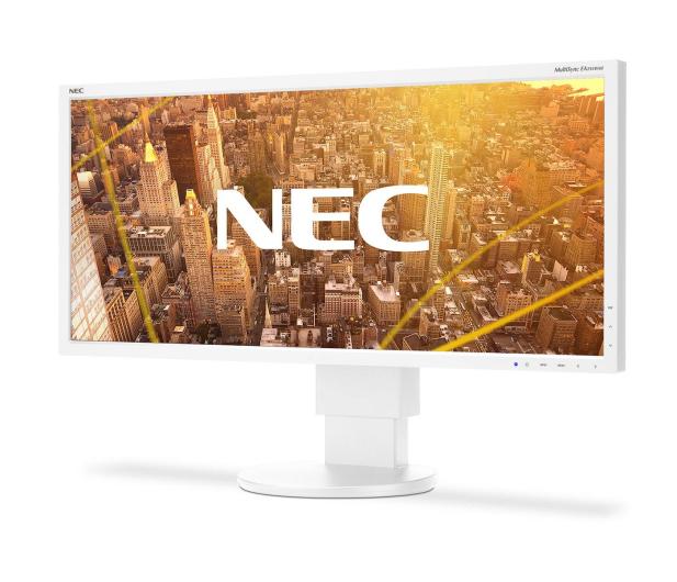 Nec MultiSync EA295WMi biały - 406914 - zdjęcie 2