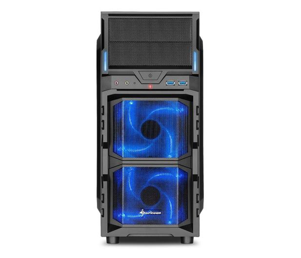 Sharkoon VG5-W Blue - 407510 - zdjęcie 2