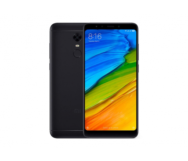 Xiaomi Redmi 5 Plus 64GB Dual SIM LTE Black - 408131 - zdjęcie