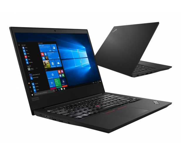 Lenovo ThinkPad E480 i5-8250U/8GB/240+500/Win10P FHD - 418224 - zdjęcie
