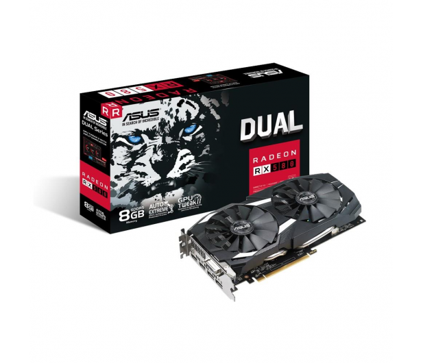 ASUS Radeon RX 580 Dual 8GB GDDR5 - 415303 - zdjęcie