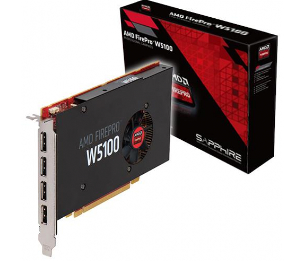 AMD FirePro W5100 4GB GDDR5 - Karty graficzne AMD - Sklep komputerowy -  x-kom pl