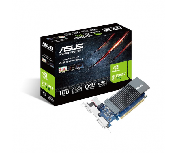 ASUS GeForce GT 710 Silent LP 1GB GDDR5 - 416012 - zdjęcie