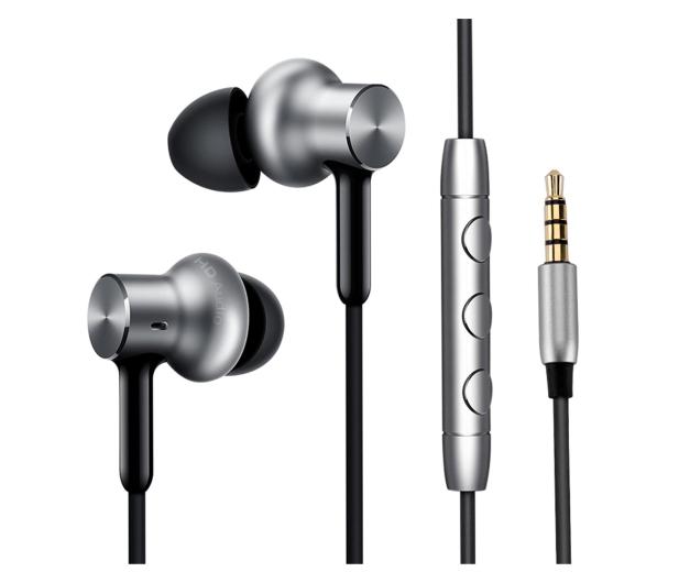 Xiaomi Mi In-Ear Pro HD Headphones (srebrny) - 416491 - zdjęcie