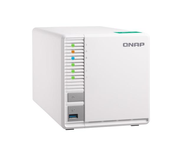 QNAP TS-328 (3xHDD, 4x1.4GHz, 2GB, 2xUSB, 2xLAN)  - 414425 - zdjęcie 3