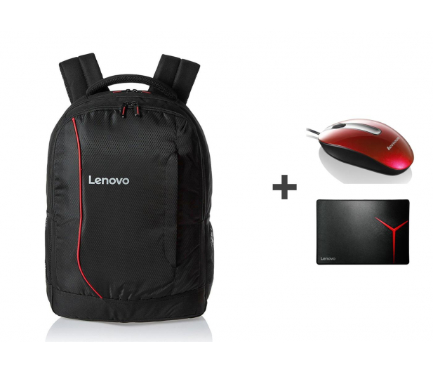Lenovo plecak B3055 + mysz + podkładka - 412510 - zdjęcie