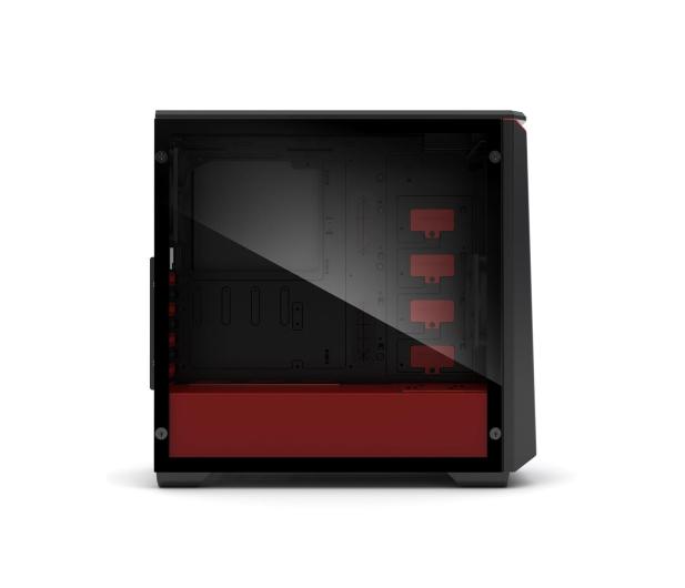 Phanteks Eclipse P400S Tempered Glass (czarny/czerwony) - 411811 - zdjęcie 6