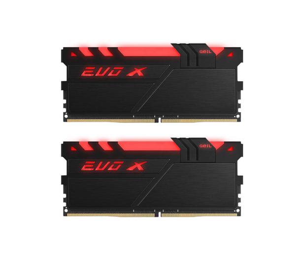 GeIL 16GB 2400MHz Evo X RGB LED CL16 (2x8GB) - 409099 - zdjęcie