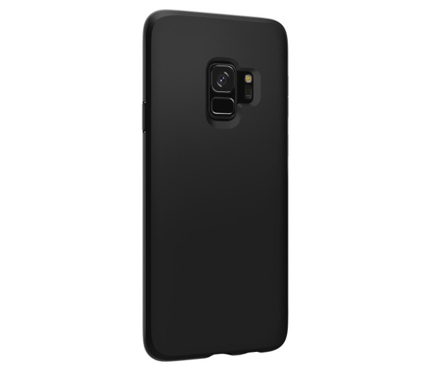 Spigen Liquid Crystal do Galaxy S9 Matte Black - 417813 - zdjęcie 4