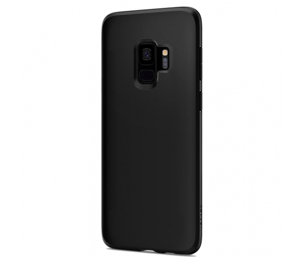 Spigen Liquid Crystal do Galaxy S9 Matte Black - 417813 - zdjęcie 2