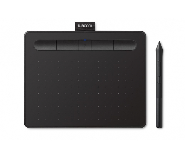 Wacom Intuos BT S Pen i Bluetooth czarny - 413271 - zdjęcie