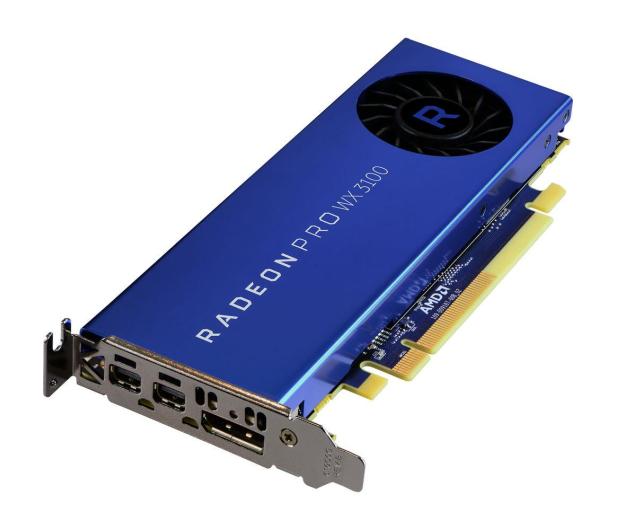 AMD Radeon Pro WX 3100 4GB GDDR5 - 418772 - zdjęcie 3