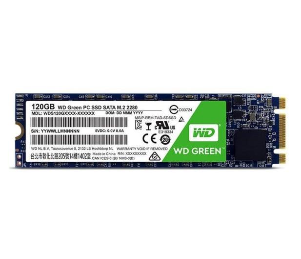 WD 120GB M.2 SATA SSD Green - 417502 - zdjęcie