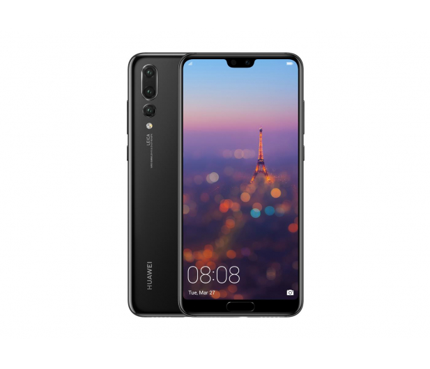 Huawei P20 Pro Dual SIM 128GB Czarny  - 415101 - zdjęcie