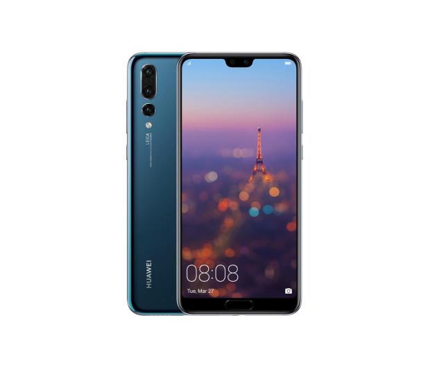Huawei P20 Pro Dual SIM 128GB Granatowy  - 415102 - zdjęcie
