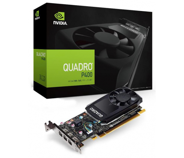 PNY Quadro P400 DVI 2GB GDDR5 - 366766 - zdjęcie