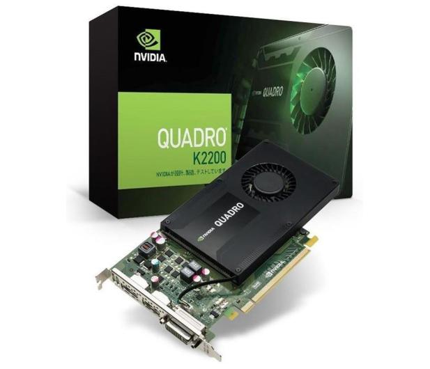 PNY NVIDIA Quadro K2200 4GB GDDR5  - 382988 - zdjęcie