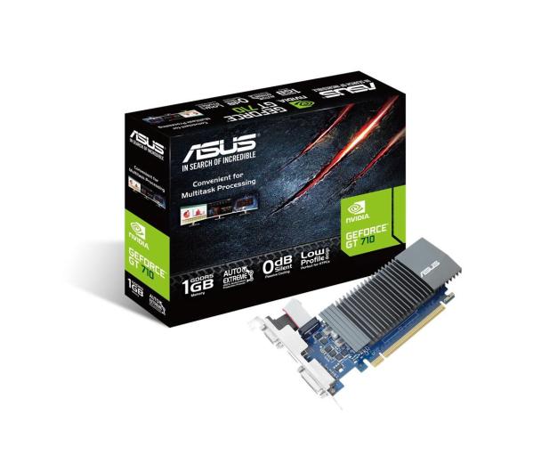 ASUS GeForce GT 710 Silent 1GB GDDR5 - 421371 - zdjęcie