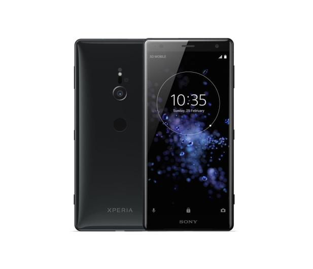Sony Xperia XZ2 H8266 4/64GB Dual SIM Płynna czerń - 412875 - zdjęcie